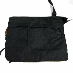 Tumi tech crossbody black laptop bag